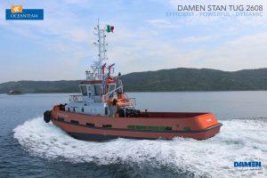 First Damen tug for Ocean