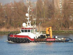 ISA gespot op de Oude Maas en Waterweg