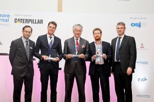 Maersk Connector wins the Offshore Support Ship 2017 Award