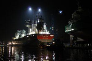 Transport FURUVIK naar Delfzijl