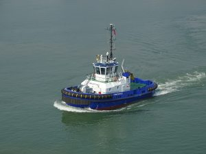 Damen ASD 2310 packs a punch for Foyle Port