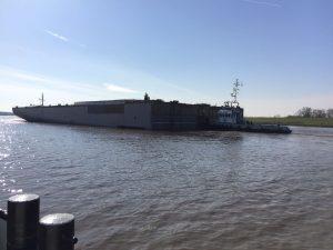 Deel cruiseschip naar Papenburg