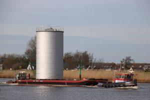 Rodie 2 & Tommy op de Hollandsche IJssel