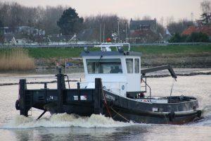 Gretina op de Hollandsche IJssel