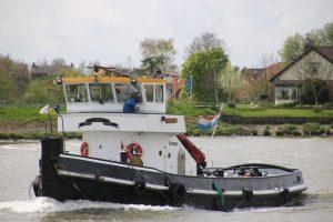 Jennie op de Hollandsche IJssel