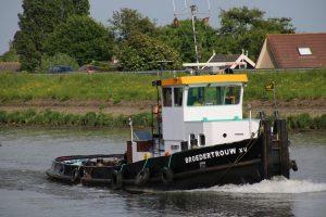 Broedertrouw XV op de Hollandsche IJssel