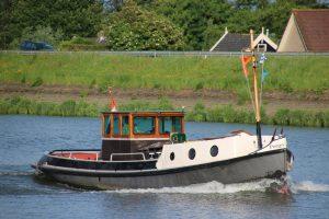 Pergo op de Hollandsche IJssel