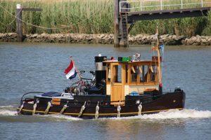 Ger-Ant op de Hollandsche IJssel