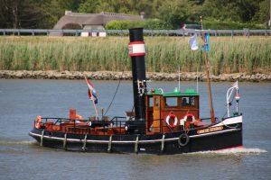 Jan de Sterke op de Hollandsche IJssel