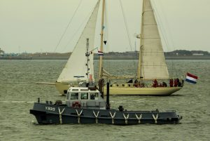 Balgzand tijdens uittocht Sail