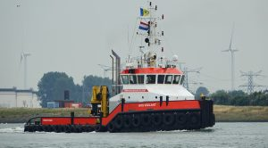 MTS VIGILANT uitgaand op de Nieuwe Waterweg 27-6-2017