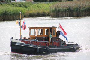 Dapper op de Hollandsche IJssel