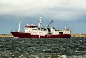 FUGRO MERIDIAN ging naar zee