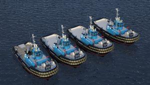 Smit Lamnalco orders four Damen ASD 3212 Tugs