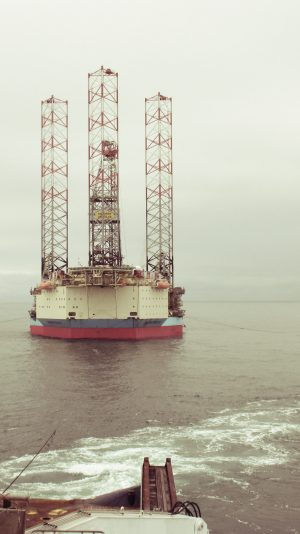 Maersk Resolve installed at D/12-A Platform