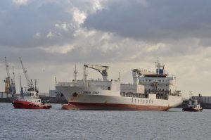 Texelbank & Thamesbank met Lombok Strait