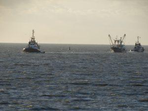 MULTRATUG 20 en MULTRATUG 13 halen viskotter GO 9 van zee