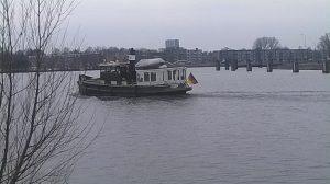 Stukje Hollands glorie van middag op eemskanaal te Groningen