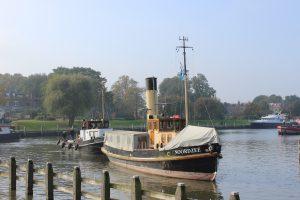 Stoomsleepboot Noordzee naar Museumhaven Willemsoord