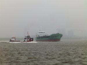 Technische proefvaart ARKLOW CAPE