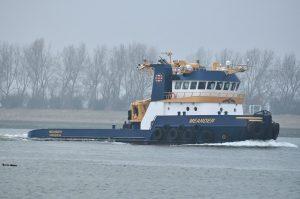 MEANDER na maanden op zee weer terug in Nederland.