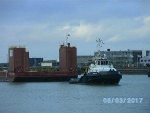 Atlantis met Dina Launcher