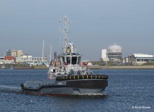 A 873 ZUIDERZEE in de haven van Den Helder.