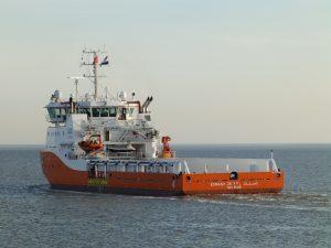 ESNAAD 230 opgeleverd en vertrokken naar Port Said.(Egypte)