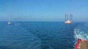 Seafox 2 completed rigmove to the Irish Sea