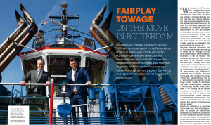 Fairplay Towage on the move in Rotterdam