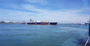 UNION PEARL en UNION CORAL gespot te Zeebrugge