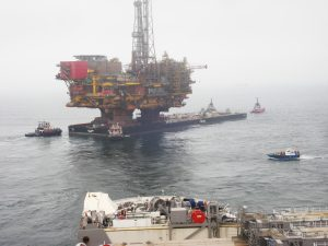 KOTUG assists Allseas with transfer and transport of Shell's Brent Delta topsides