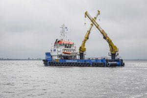 Damen vessels at Seawork International 2017