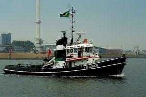 Aankomst Albatros voor Sail 2017