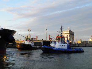 Antwerp Towage met SCF Baltica
