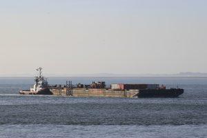 PEGASUS met de H 302 naar zee