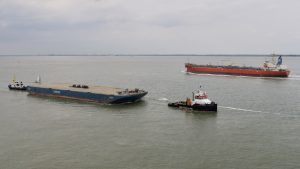 SEA BRAVO met LOUIS naar Gent