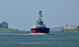 Sleepboot ROTTERDAM aangekomen voor Kotug Smit Towage