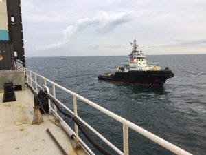 THOR anchorhandling at the Northsea