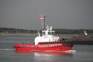 Southampton op 15-08-17 naar de Sloehaven