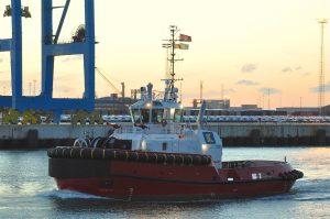 Southampton in Zeebrugge