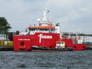 Fugro Frontier, Vebo Aqua, Offshore Phantom, Delta