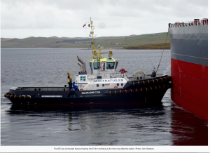 SIC agrees to buy £7.6m Sella Ness tug