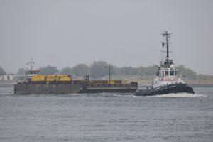 Dinsdag 26 september, Waterweg en Calandkanaal