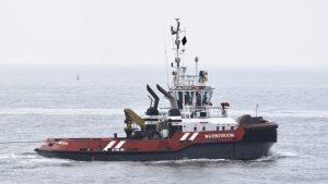 WATERSTROOM met WAGENBORGBARGE 7 naar zee