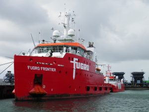 Fugro at the Kalootharbour