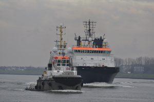 UNION MANTA en UNION SAPPHIRE binnengekomen te Rotterdam