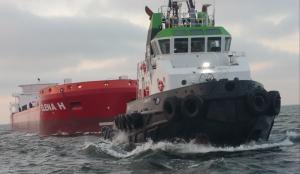 JARO II met HELENA H vanuit de Black Sea onderweg naar Rotterdam