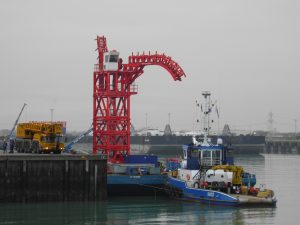 Sil-Jeske-B met Sarens Twin Barge Karel-Victor