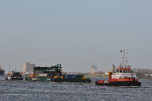 Union Princess, Lingestroom met Skyline Barge 21